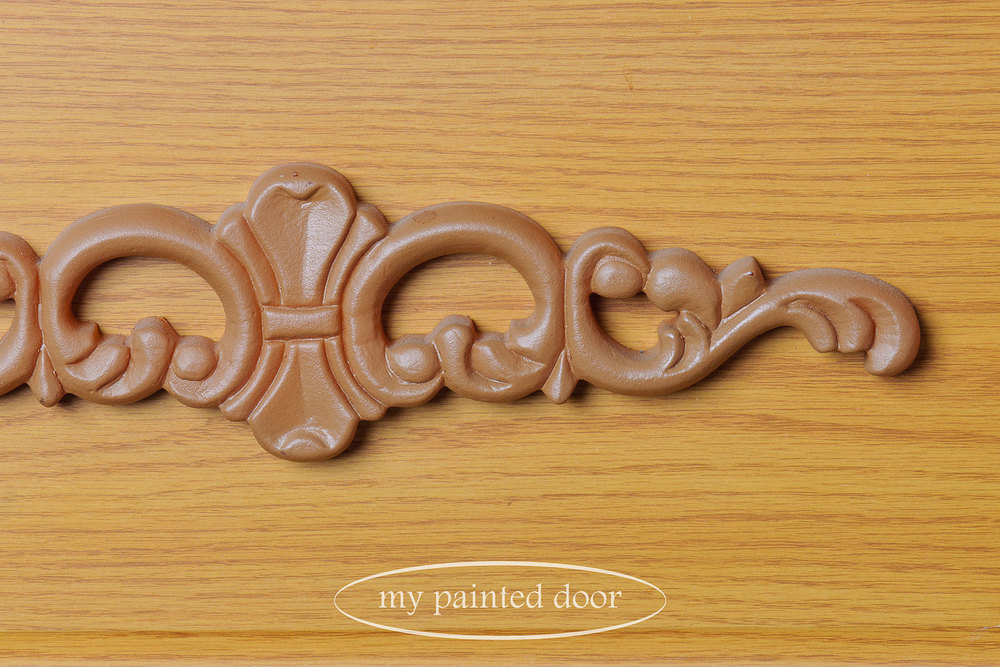Putting milk paint to the test - via My Painted Door (.com)