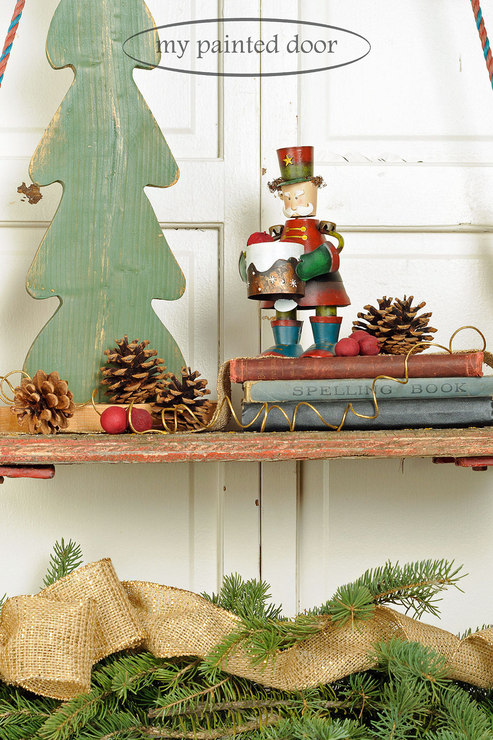 I'm having a Miss Mustard Seed's milk paint Christmas! - via My Painted Door (.com)