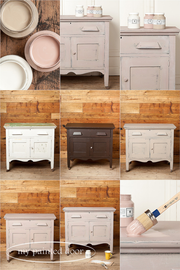 Lovely Distressed Cabinets Painting Techniques