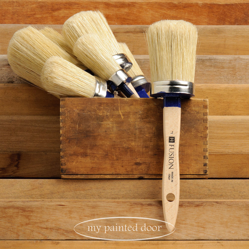 Fusion paint brushes available at My Painted Door (.com)