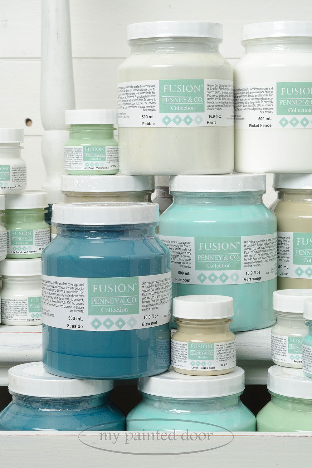 Fusion mineral paint  - Penney & Co. Collection - available at My Painted Door (.com)