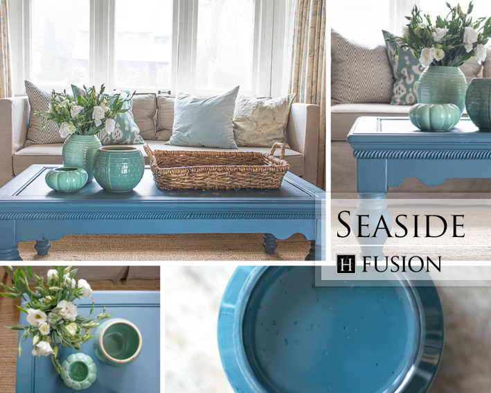 Fusion mineral paint in Seaside from   the Penney & Co. Collection - available at My Painted Door (.com)