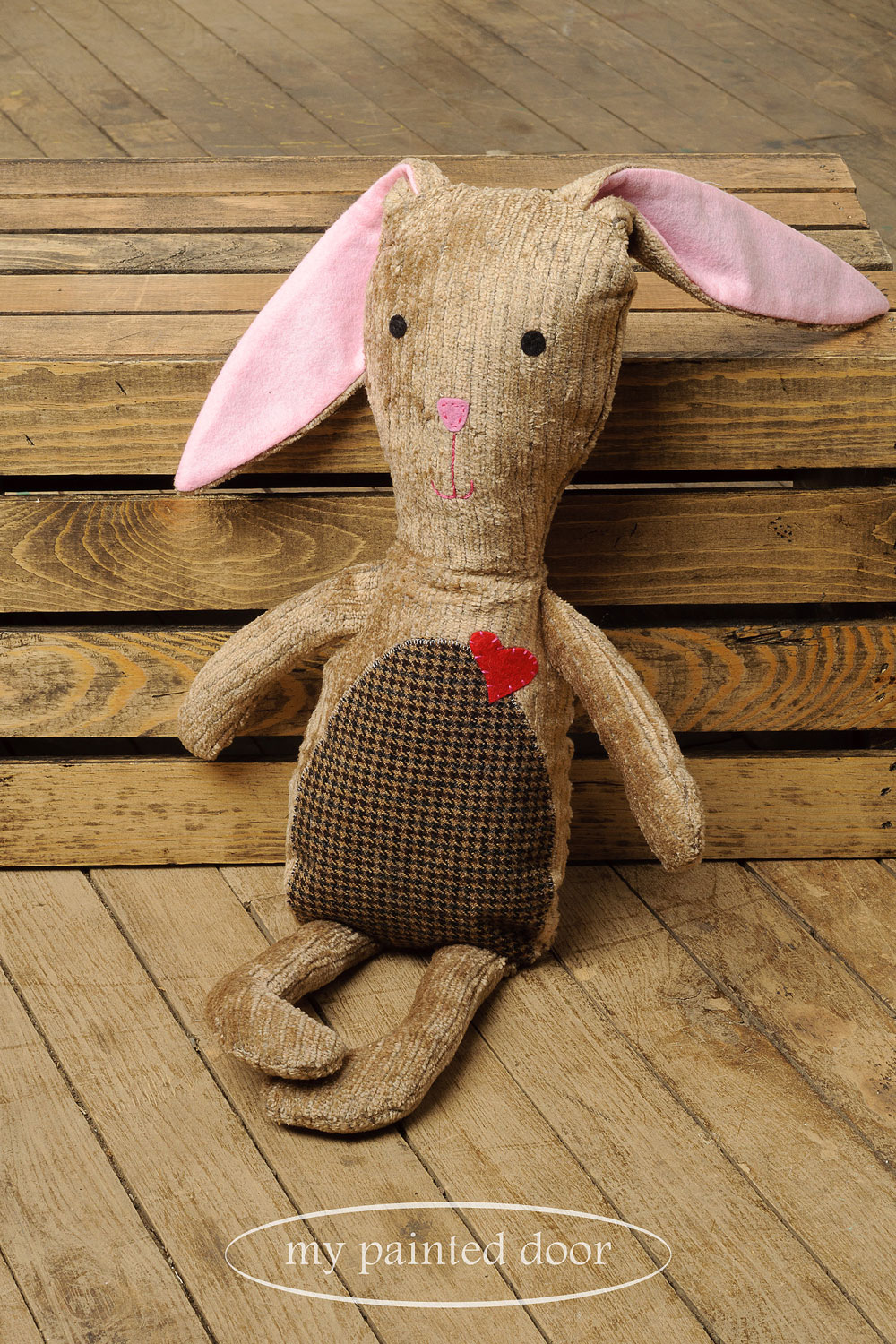 Bunny by  Sew Whimsical by Katie  - via My Painted Door (.com)