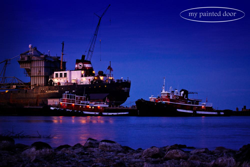 Tugboats on Lake Superior