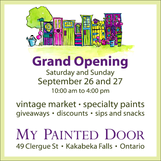 Grand Opening - My Painted Door
