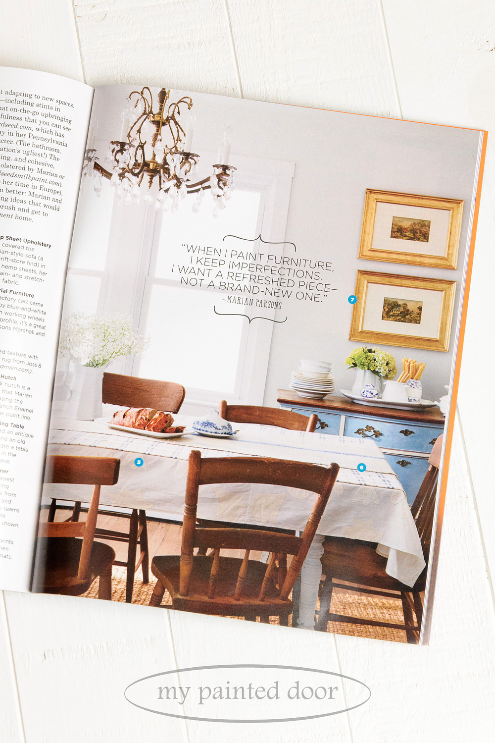 Miss Mustard Seed is featured in Country Living magazine.