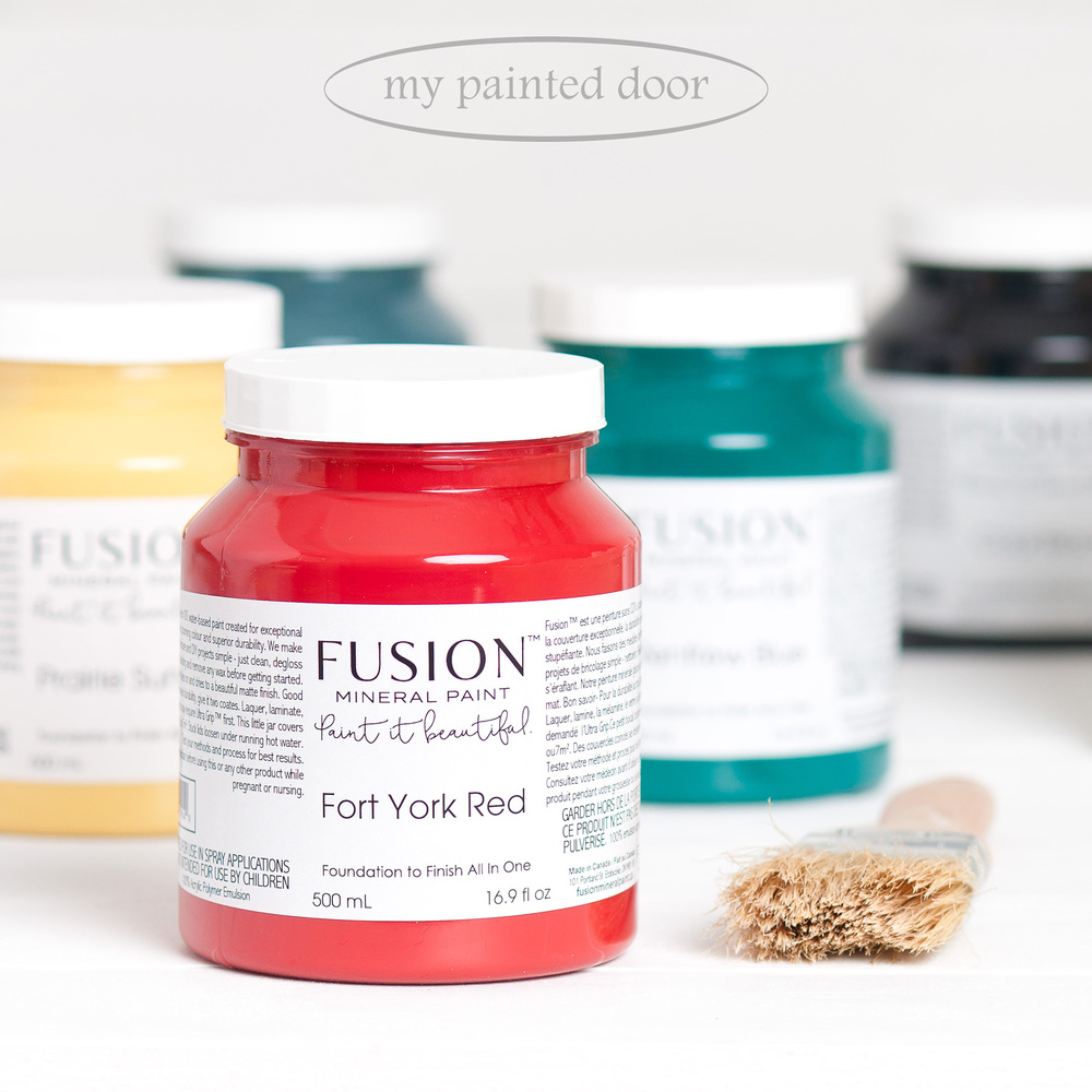 Want to know how much one bottle or tester size of Fusion Mineral Paint will cover? I think you will be amazed!