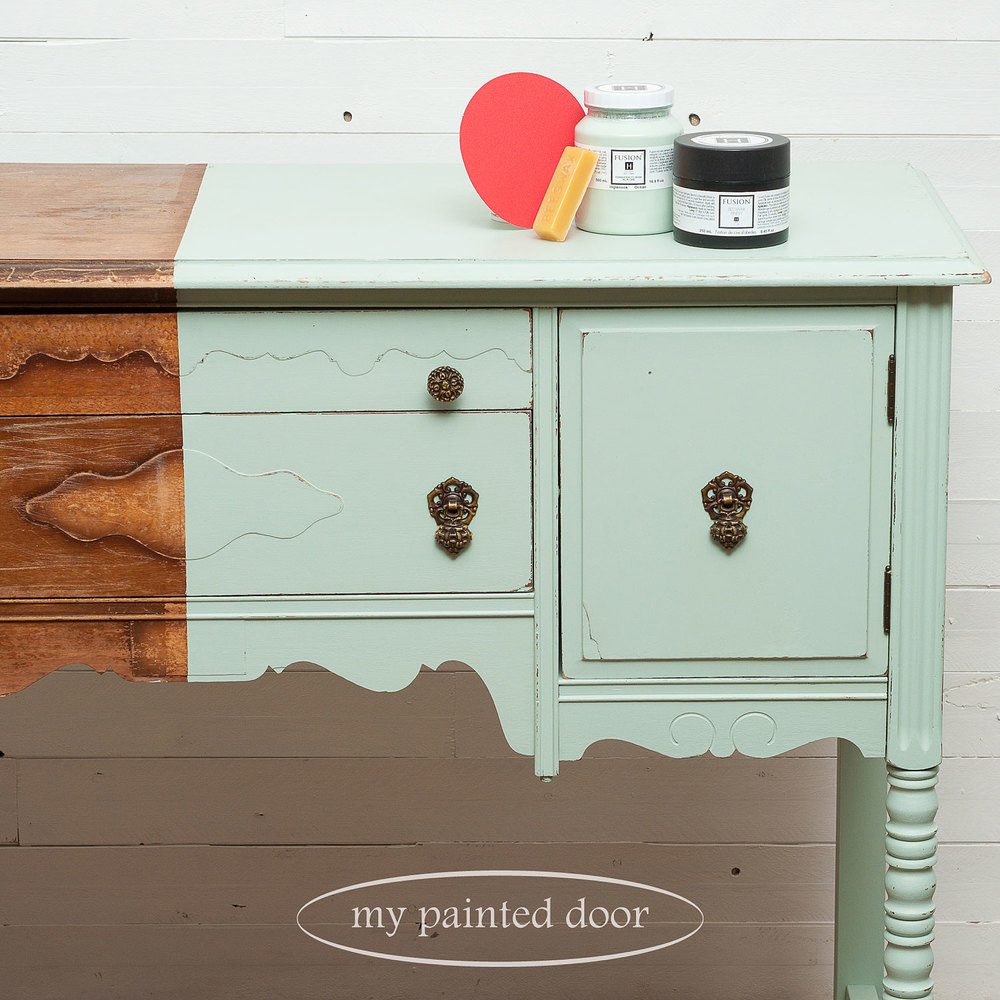 Learn More! At a glance you can see all my blog posts about Fusion Mineral Paint!
