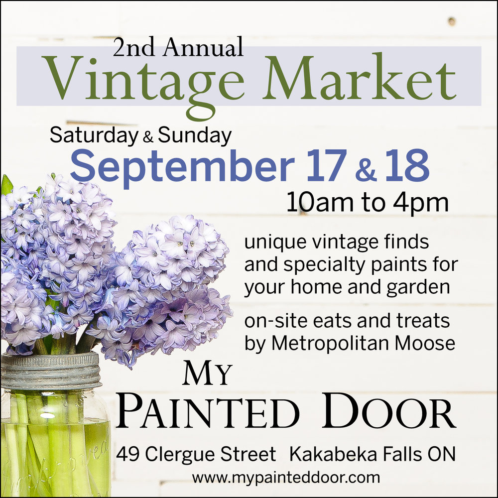 2nd Annual Vintage Market ▪ My Painted Door