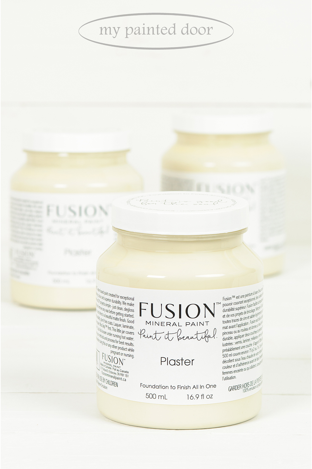 Plaster ▪ A generously soft sand, not too white, not quite beige. A beautiful neutral for anywhere in your home. Fusion Mineral Paint available at My Painted Door (.com)
