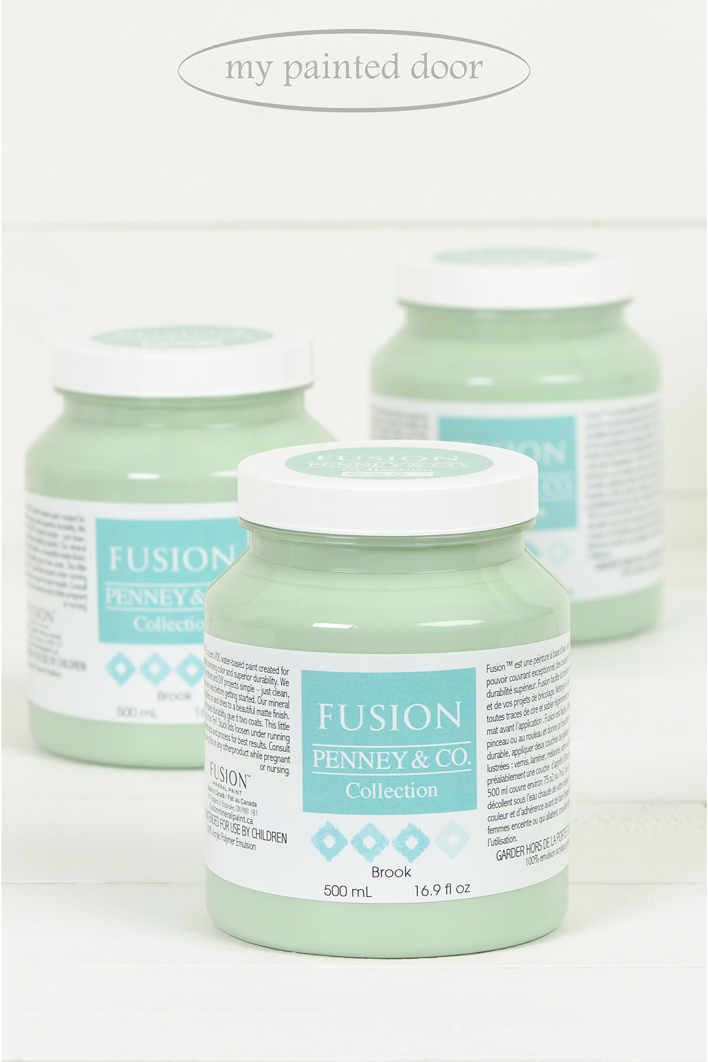 Brook ▪ Dip your toes into this refreshing watery blue-green. Fusion Mineral Paint available at My Painted Door (.com)