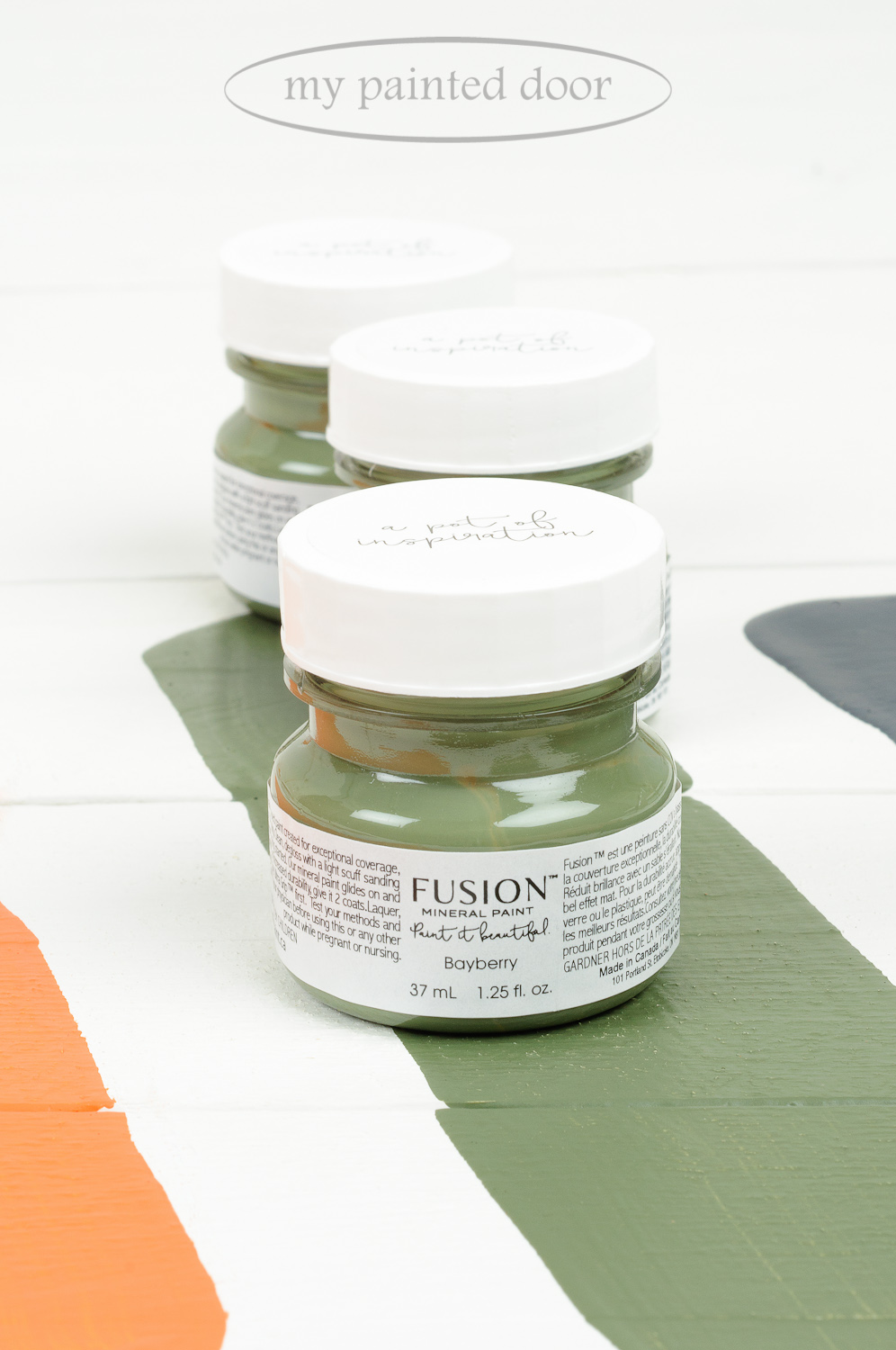 Bayberry ▪  One of the 13 New Fusion Mineral Paint colours! Available on-line at My Painted Door.
