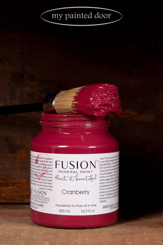 Fusion Mineral Paint - Cranberry