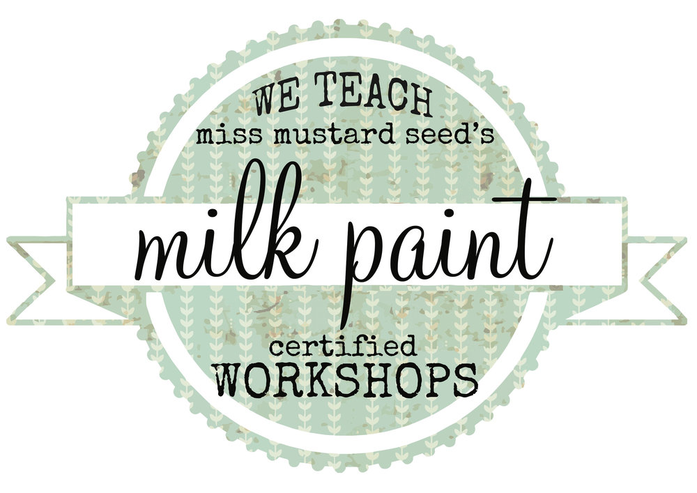 My Painted Door staff are certified instructors for Miss Mustard Seed's Milk Paint
