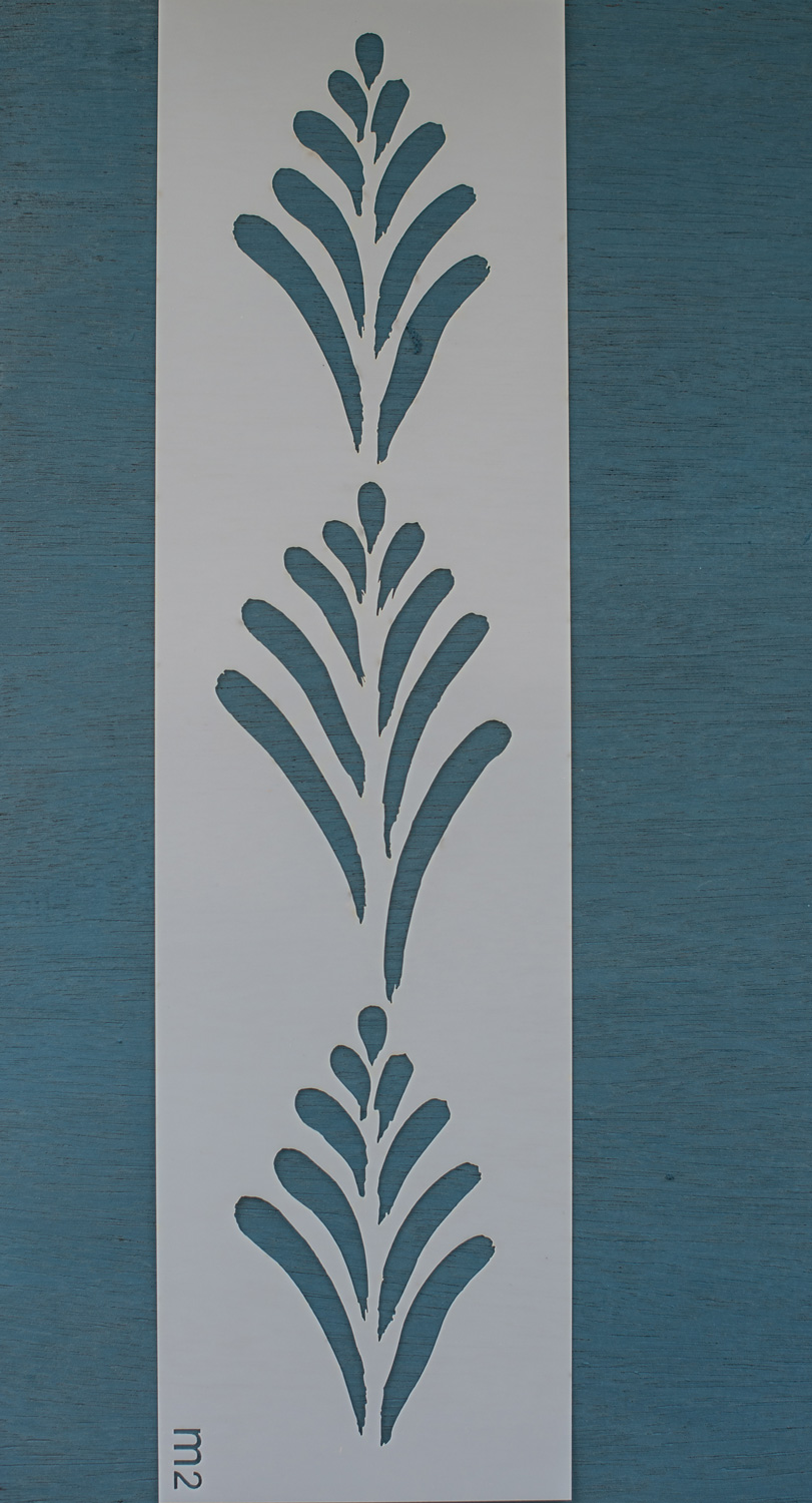 Linda - Miss Mustard Seed's Milk Paint Stencil - available at My Painted Door