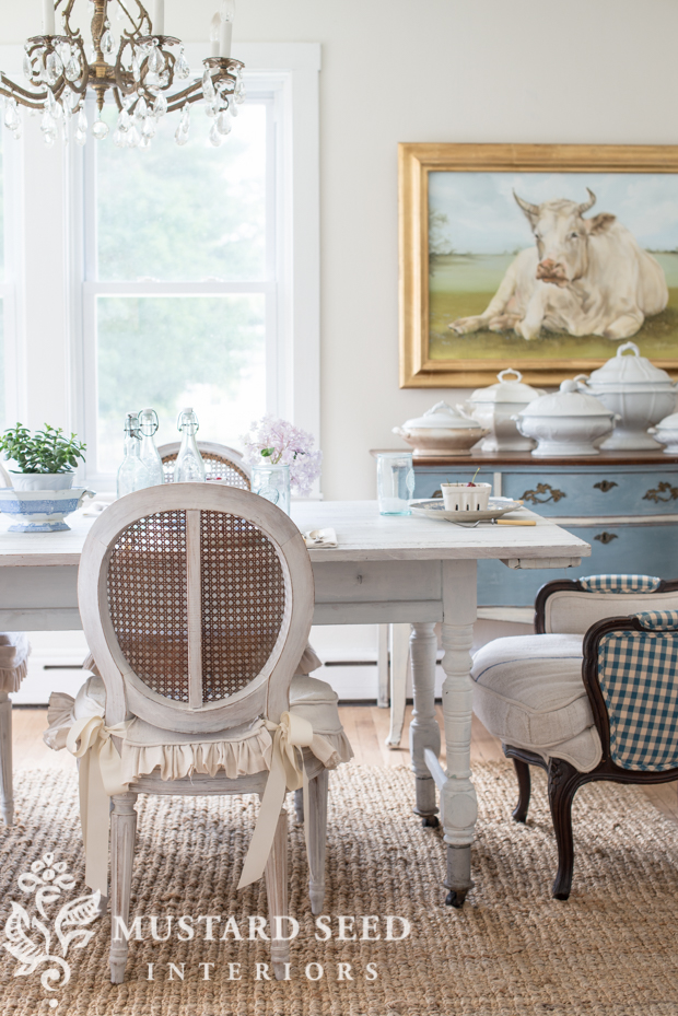Photo Credit: Marian Parsons Of Mustard Seed Interiors