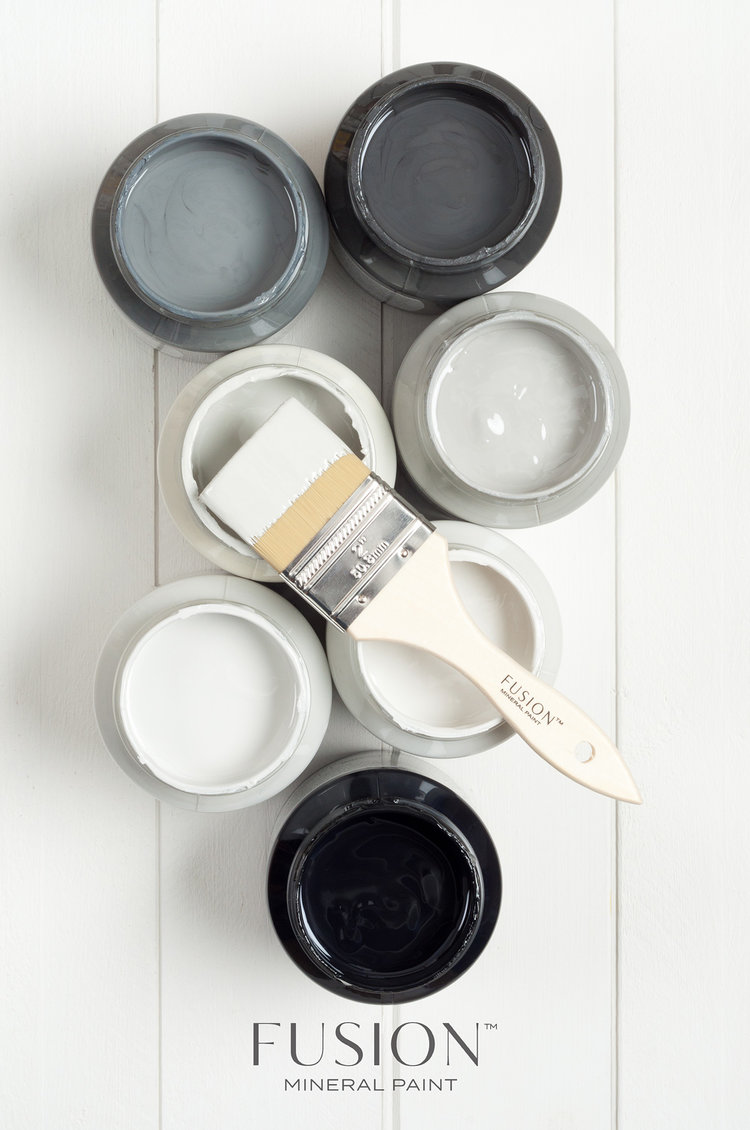 Shades of grey Fusion Mineral Paint