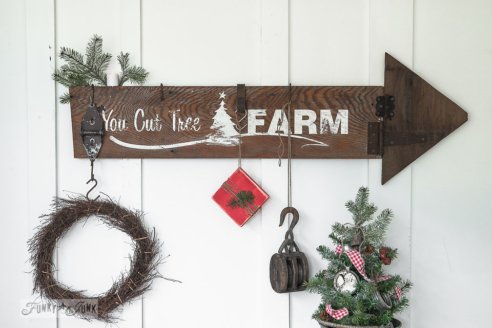 You Cut Tree Farm Stencil by Funky Junk Interiors - available at My Painted Door