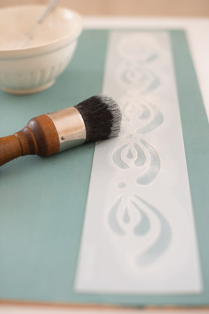 Kimbrough - Miss Mustard Seed's Milk Paint Stencil