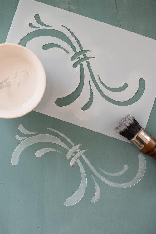 Susan - Miss Mustard Seed's Milk Paint Stencil