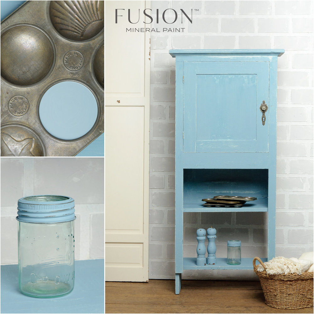 Hutch   Painted in Fusion Mineral Paint Champness