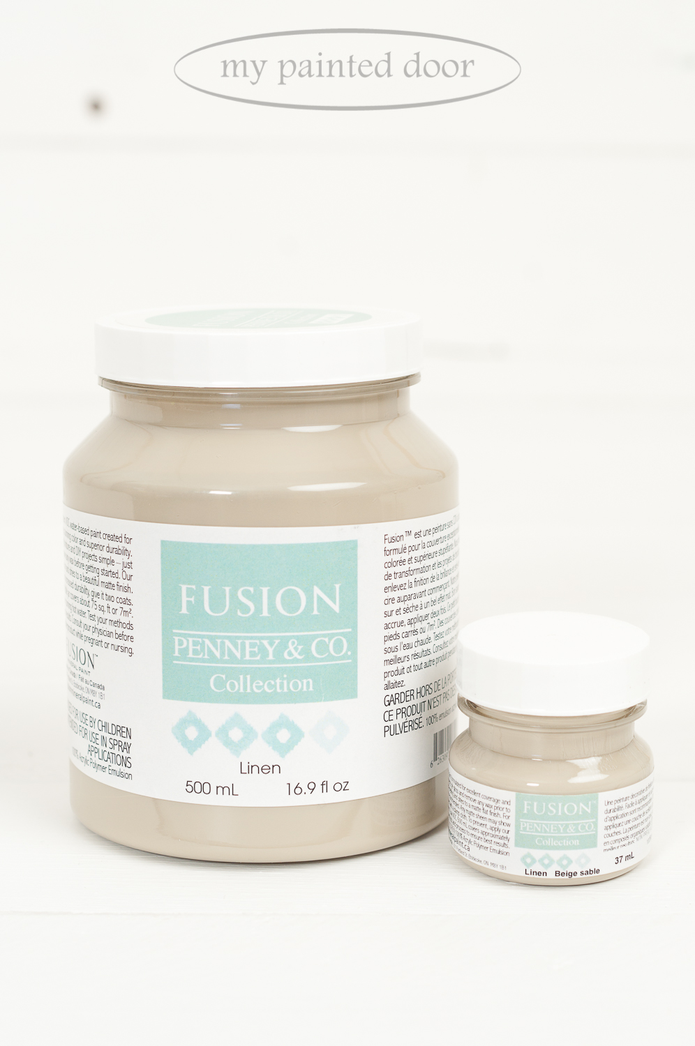 Fusion Mineral Paint in the colour Linen
