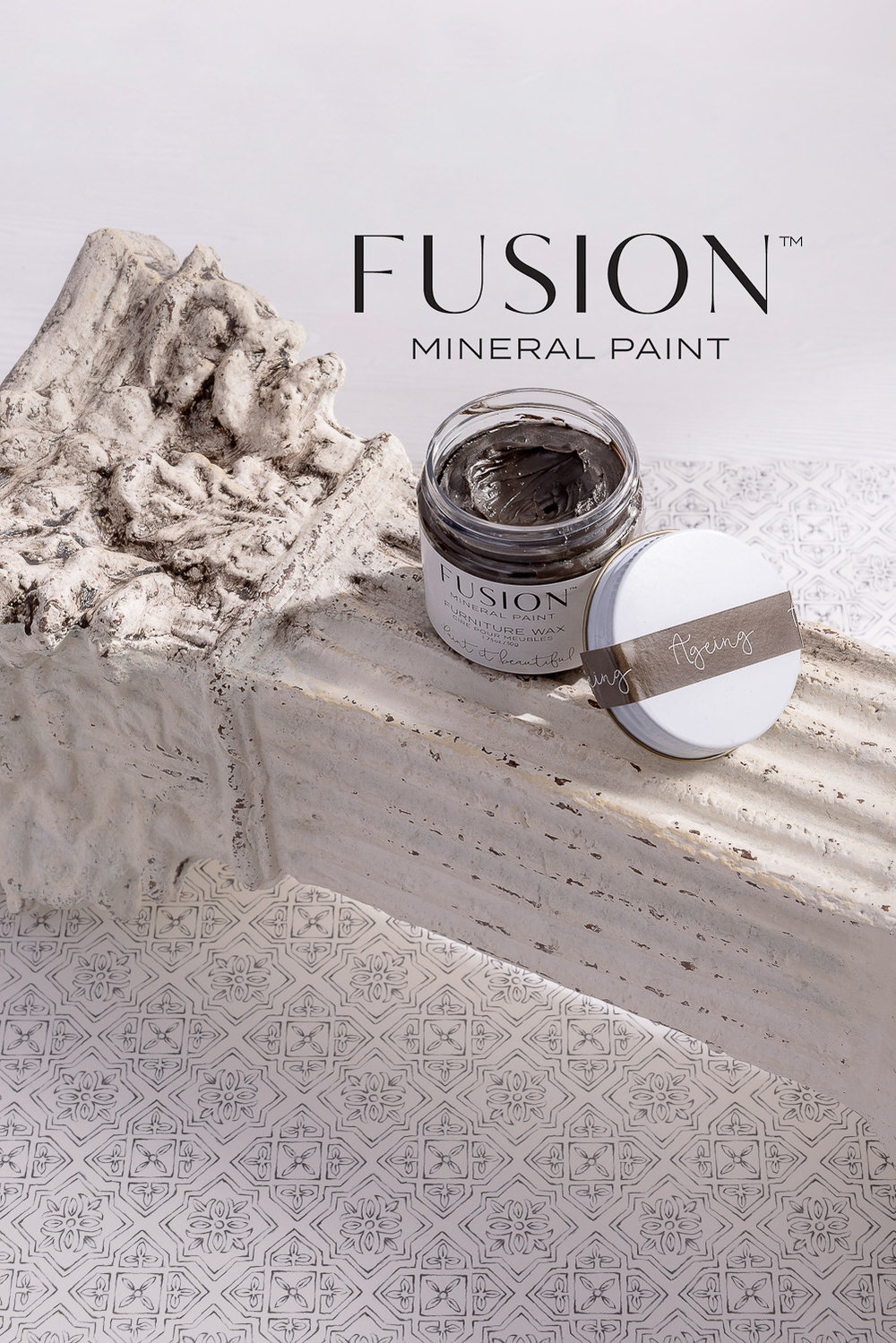 Ageing Furniture Wax by Fusion Mineral Paint - available online at My Painted Door