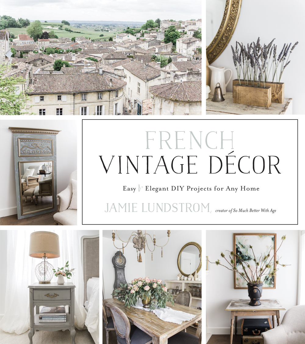 French Vintage Decor by Jamie Lundstrom. Available online at My Painted Door.