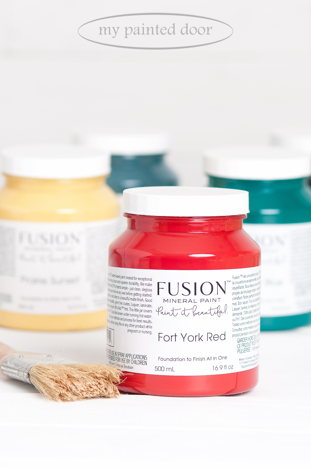 How Much Will One Bottle of Fusion Mineral Paint Cover? Read My Blog Post To Find Out!