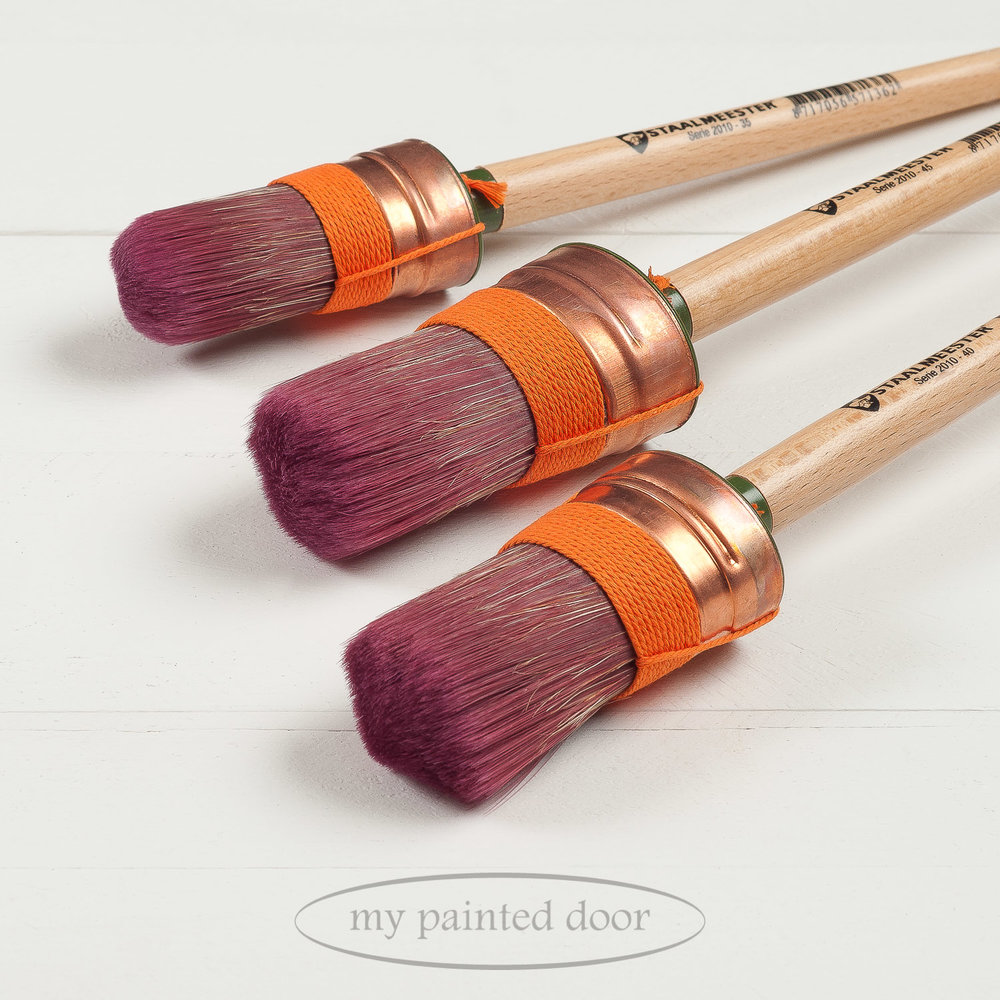 Staalmeester Oval Paint Brush for Furniture Painting