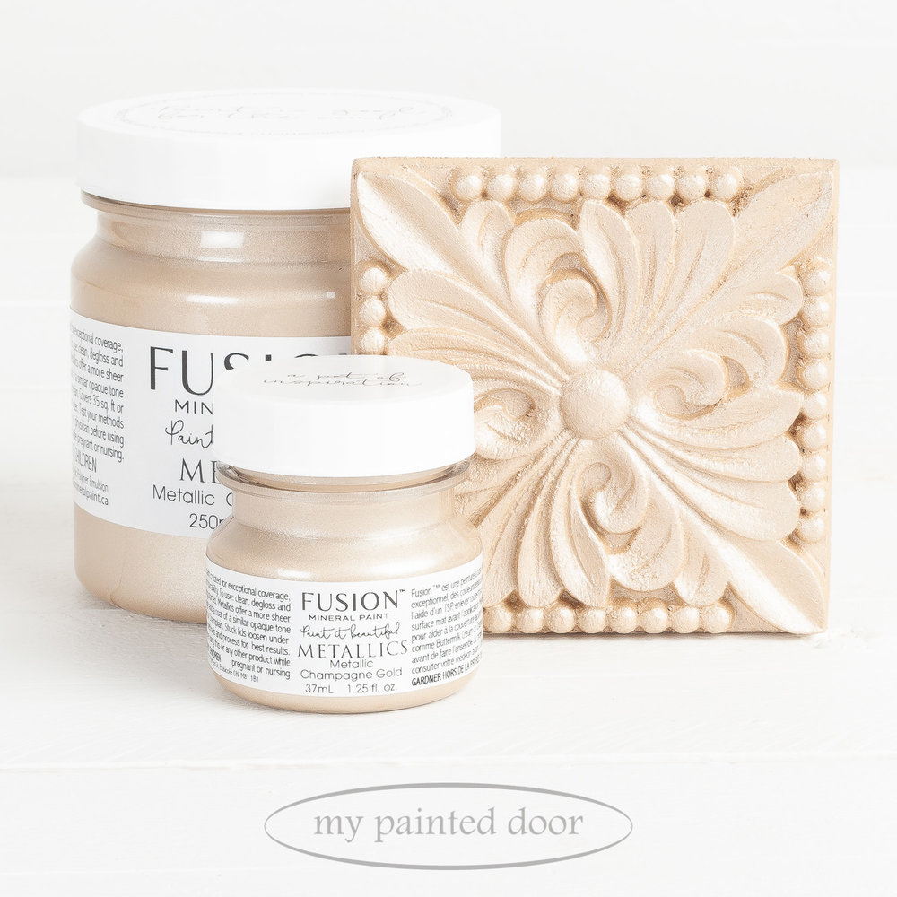 Fusion Metallic Paint - Champagne Gold