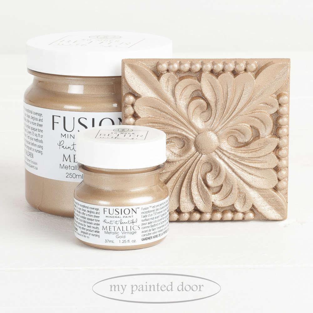 Fusion Metallic Paint - Vintage Gold