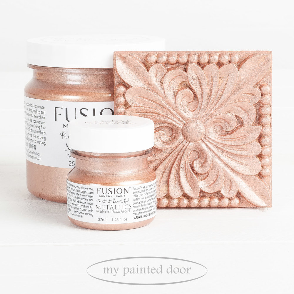 Fusion Metallic Paint Rose Gold