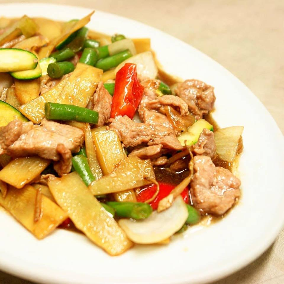 STIR-FRIED GINGER