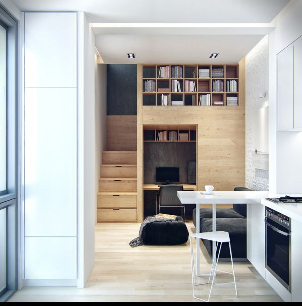Living Small: 5 Micro Apartments — BRYONY GROENEVELD