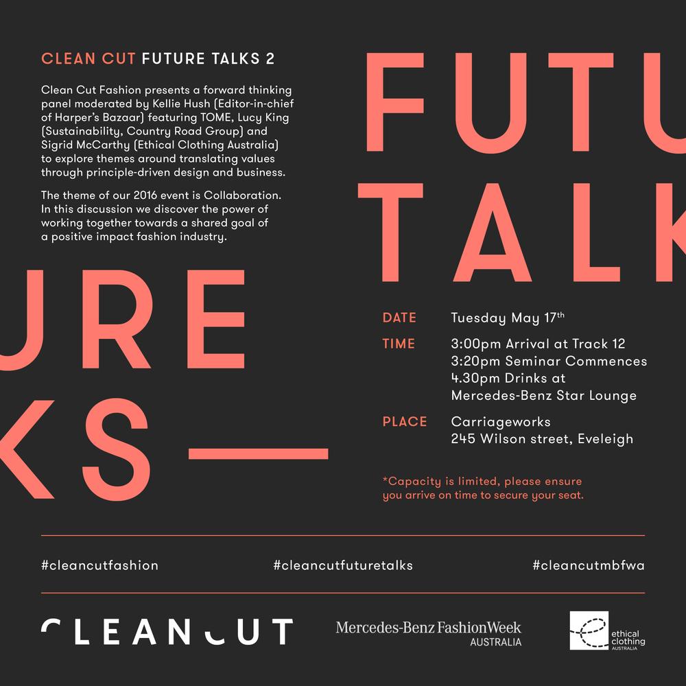 FUTURE TALKS MBFWA 2016