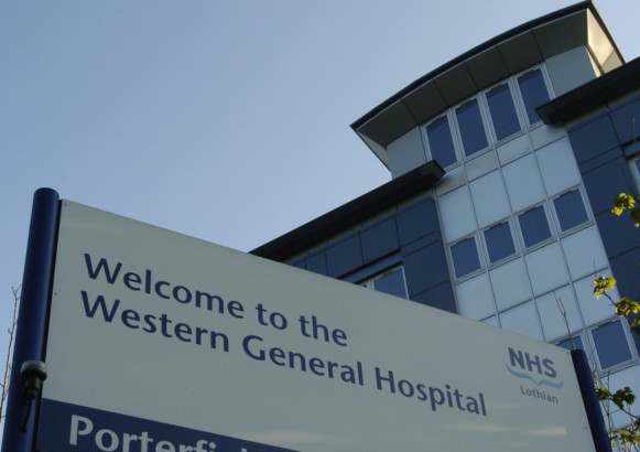 Alan Frith (07827924549) at the Western General Hospital. -