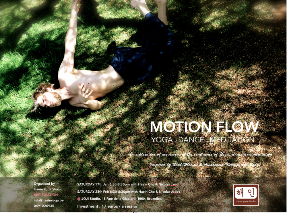 Motion Flow Saturday 28th Feb 6:30-8:30pm