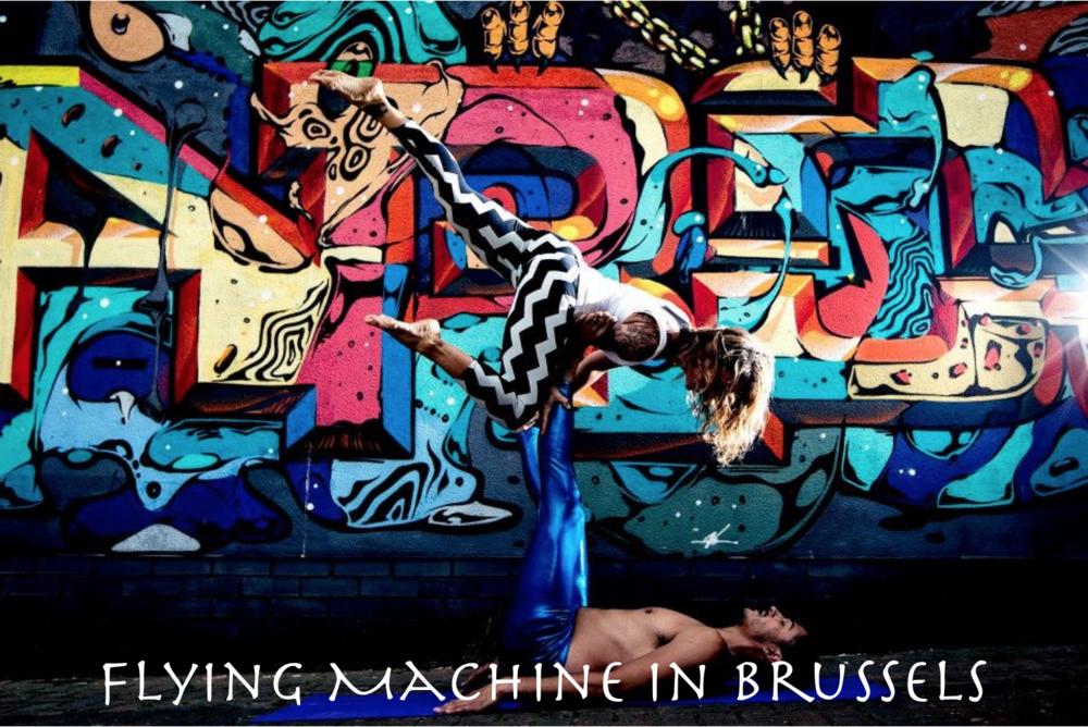 Flying Machine in Brussels with Lula(uk), Yaroslav(Ru)&haein(kr) 6-8th March