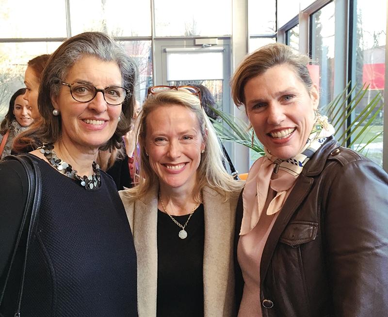 Heather Campion, Tess Atkinson and Lauren Budding at the Gardner Museum