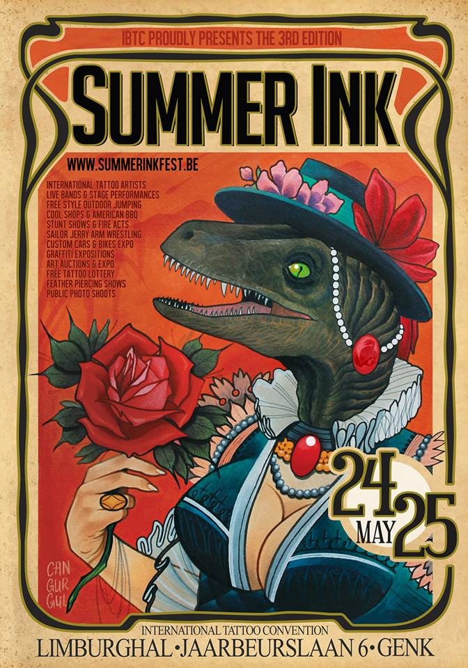 Swen Losinsky / Good Old Times Tattoo auf der Summer Ink in Belgien