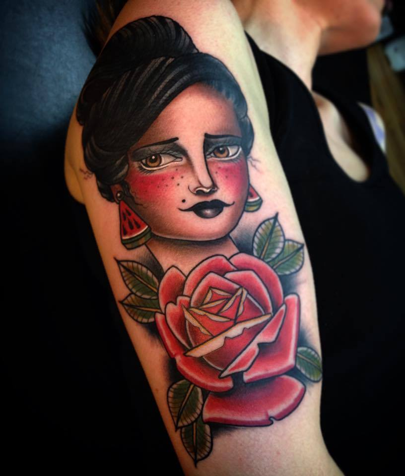 neotraditionalgirltattoo