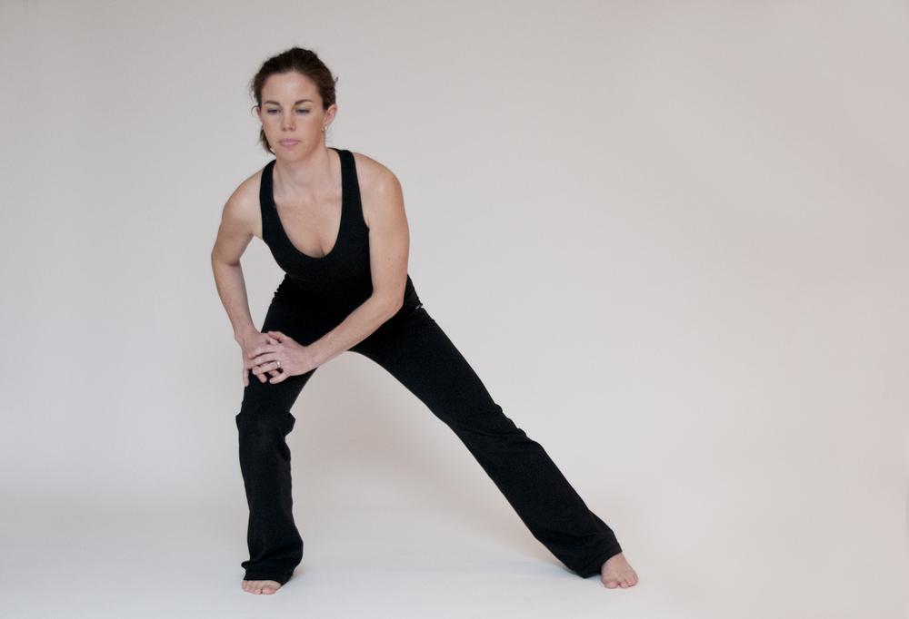 Inside Leg and Hamstring Stretch