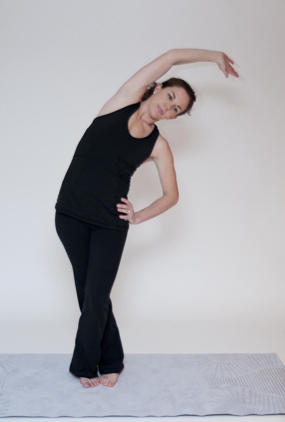 Hip Stretch (reaching back)
