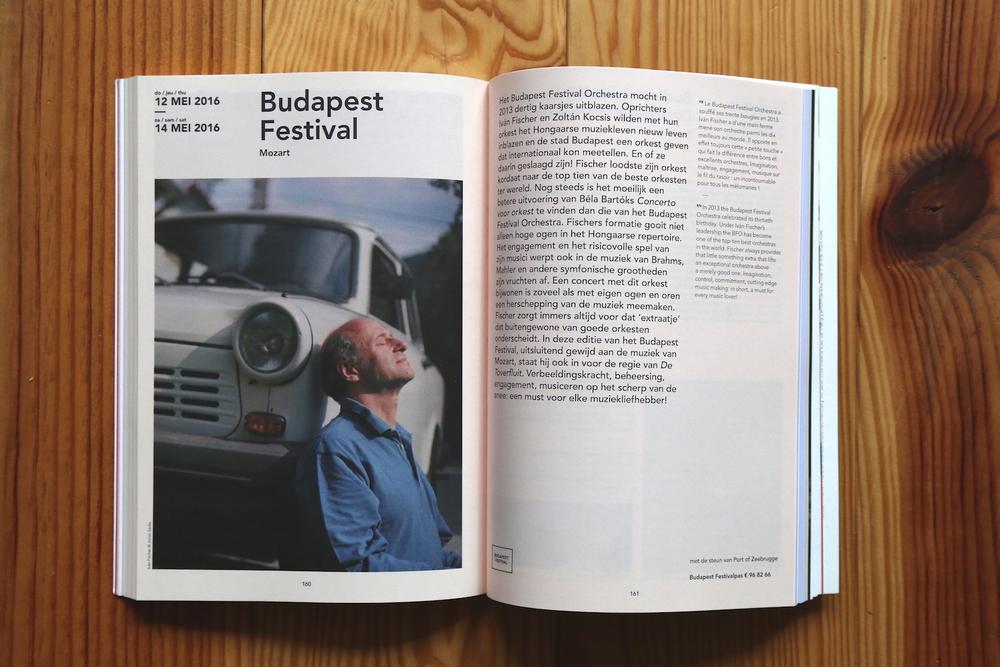 Iván Fischer - in the Concertgebouw Brugge2016 Brochure