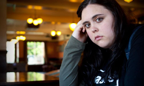 Sharon Rooney as Rae Earl in My Mad Fat Diary. Photograph: Channel 4/PA via The Guardian