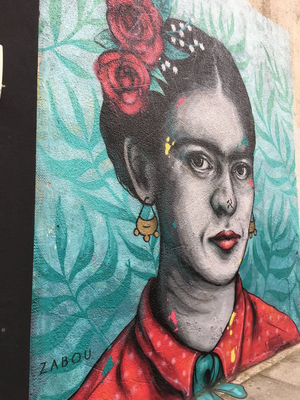 Actually, I think it's meant to be a blend of Frida and Diego!