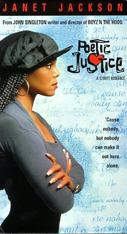 Poetic Justice movie poster. Copyright / Fair use