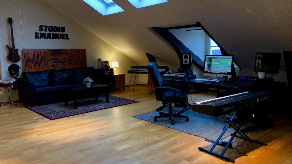Musikproduktion -