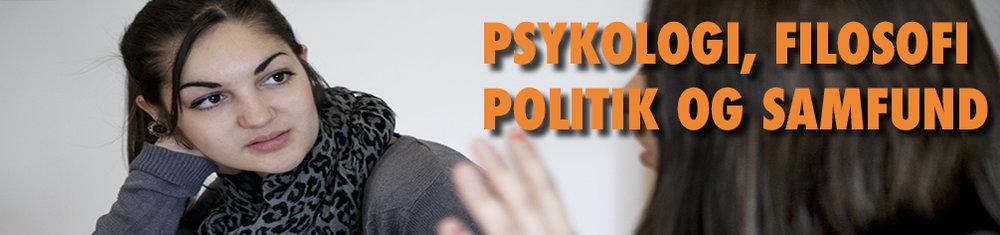 Psykologi, samfund, filosofi og politik